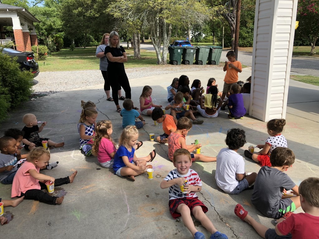Kona Ice at Carla's Country Daycare