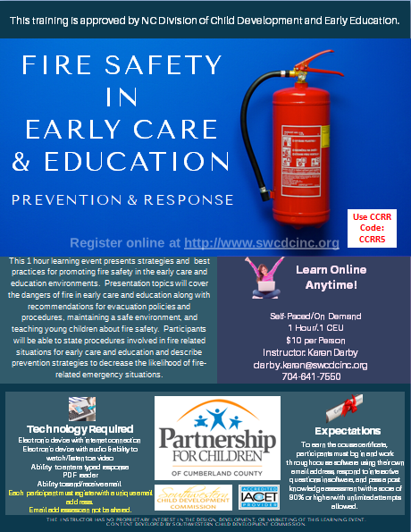 Fire Safety Flyer
