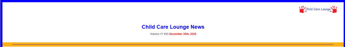 Child Lounge Letter December 20