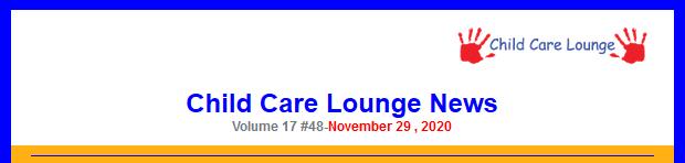 Child Lounge Letter November 29